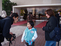 Wo Ai Ni Mommy, Faith with filmmaker jpg