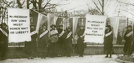 women right to vote essays
